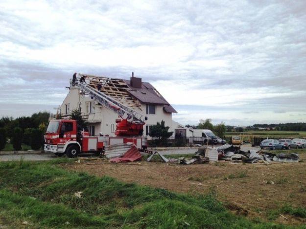 Aktualności Podkarpacie | Prawie 300 interwencji strażaków w dwa dni. Skutki burz