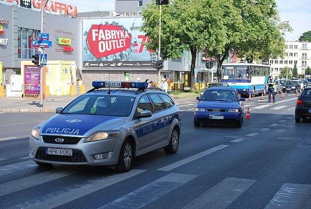 Aktualności Rzeszów | Potrącenie pieszej przy ul. Lisa Kuli. Kobieta przechodziła przez przejście na zielonym świetle