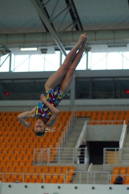 Aktualności Rzeszów | Rzeszowianka mistrzynią w skokach do wody