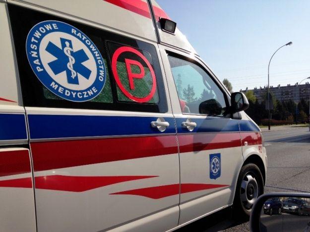 Aktualności Podkarpacie | Wypadek na drodze krajowej nr 77. Są poszkodowani