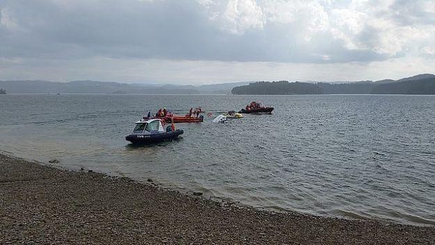 Aktualności Podkarpacie | Interwencja na Jeziorze Solińskim. Tonęła łódź z żeglarzami