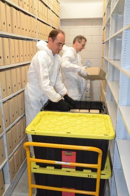 Aktualności Rzeszów | Archiwum Państwowe zmienia swoją siedzibę. Trwa przewóz akt