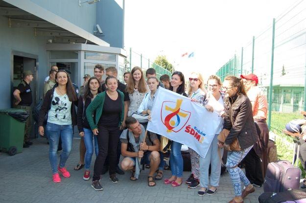 Aktualności Podkarpacie | Tysiąc pielgrzymów przekroczyło granicę z Ukrainą na Podkarpaciu