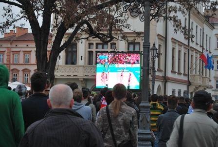 Aktualności Rzeszów | Transmisja meczu na Rynku