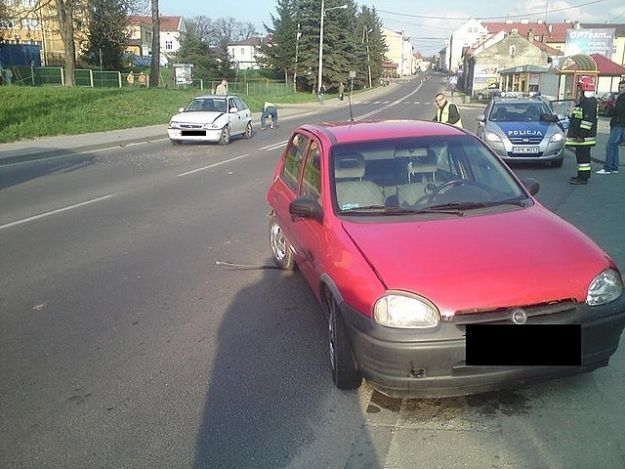 Aktualności Podkarpacie | Zderzenie samochodów w Strzyżowie