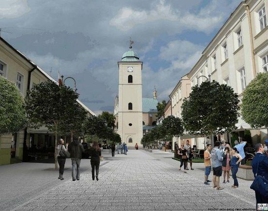 Aktualności Rzeszów | Duże zainteresowanie przebudową rzeszowskich deptaków. Termin rozstrzygnięcia przetargu znów przesunięty
