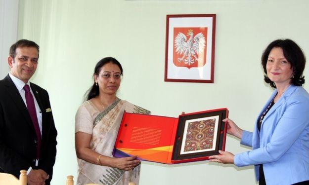 Aktualności Rzeszów | Ambasador Indii z wizytą w Rzeszowie