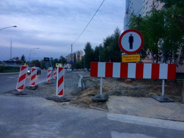 Aktualności Rzeszów | Trwają prace przy ul. Kwiatkowskiego. Strabag buduje prawoskręt
