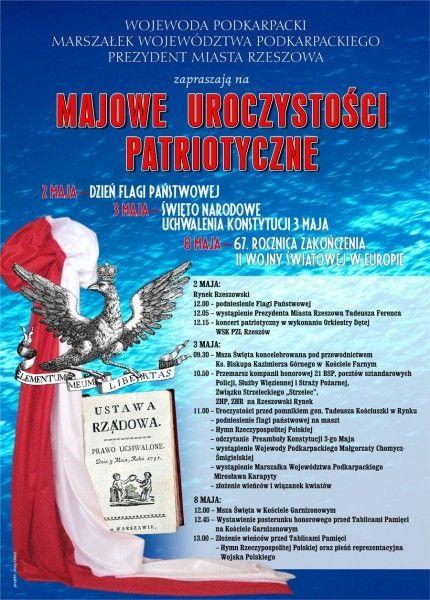Aktualności Rzeszów | Majowe Uroczystości Patriotyczne