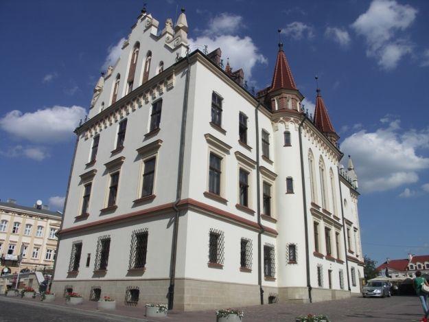 Aktualności Rzeszów | Iluminacja rzeszowskiego Ratusza