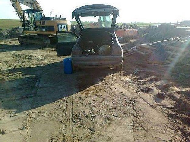 Aktualności Podkarpacie | Okradali maszyny z terenu budowy autostrady