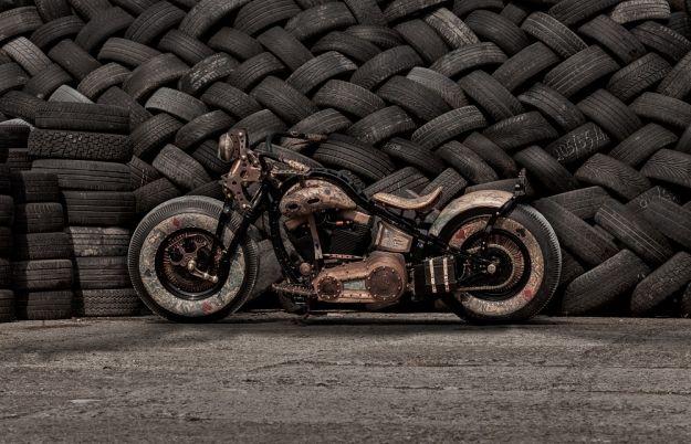 Aktualności Rzeszów   Wytatuowany motocykl z Podkarpacia nagrodzony w konkursie Harleya