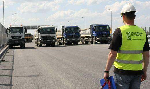 Aktualności Rzeszów | Most wytrzymał obciążenie 600 ton