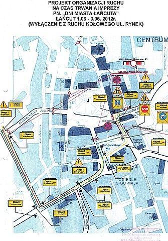Aktualności Podkarpacie | Kierowco! W weekend utrudnienia w centrum Łańcuta