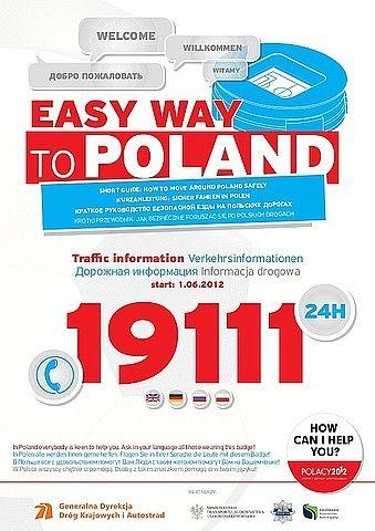 Aktualności z Kraju | Ulotka dla kierowców na EURO 2012