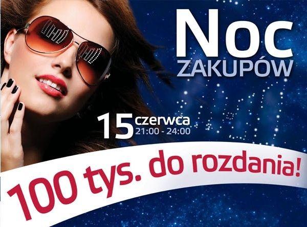 Aktualności Rzeszów | 15 czerwca - Noc Zakupów w Millenium Hall