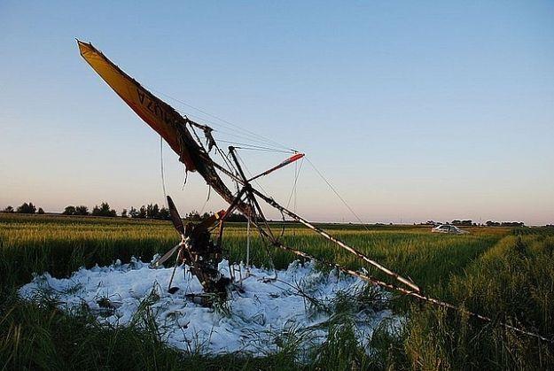Aktualności Podkarpacie | Awaryjne lądowanie motolotniarza