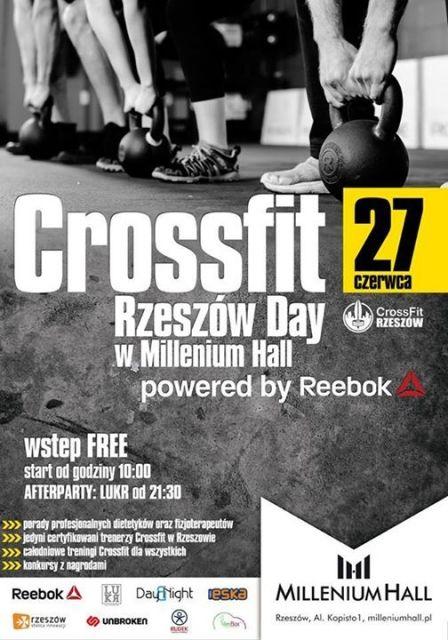 Aktualności Rzeszów | Dziś w Millenium Hall darmowe treningi Crossfit