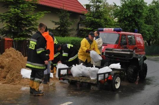 Aktualności Podkarpacie | Promesy dla powiatów na usuwanie skutków powodzi