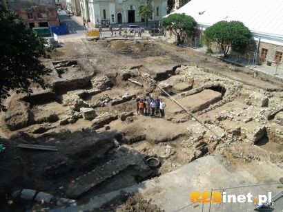 Aktualności Podkarpacie | Trwają prace archeologiczne w Sanoku