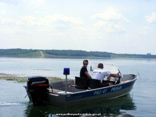 Aktualności Podkarpacie | Interwencje Policji i WOPR na Jeziorze Tarnobrzeskim
