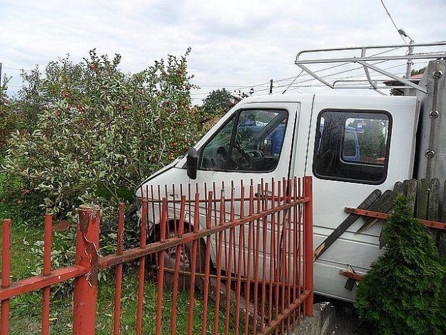 Aktualności Podkarpacie | Pijany kierowca wjechał w ogrodzenie