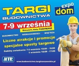Aktualności Rzeszów | Ruszają Targi Budownictwa