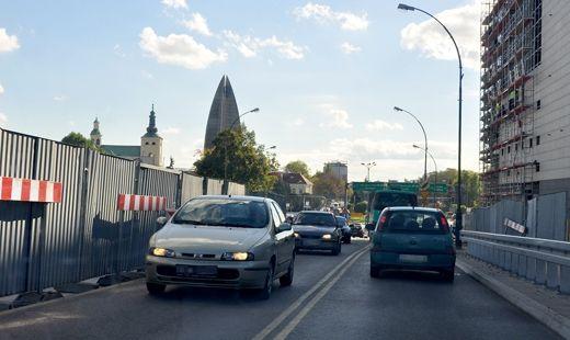 Aktualności Rzeszów | Wiadukt Tarnobrzeski wciąż nie w pełni przejezdny