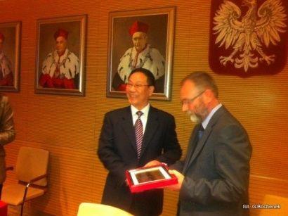 Aktualności Rzeszów | Umowa Politechniki z chińską uczelnią