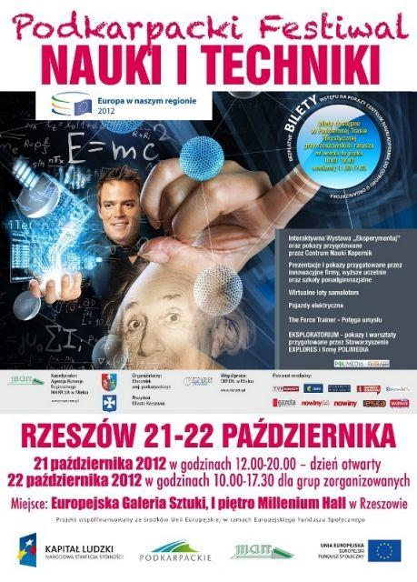Aktualności Rzeszów | Festiwal nauki i techniki
