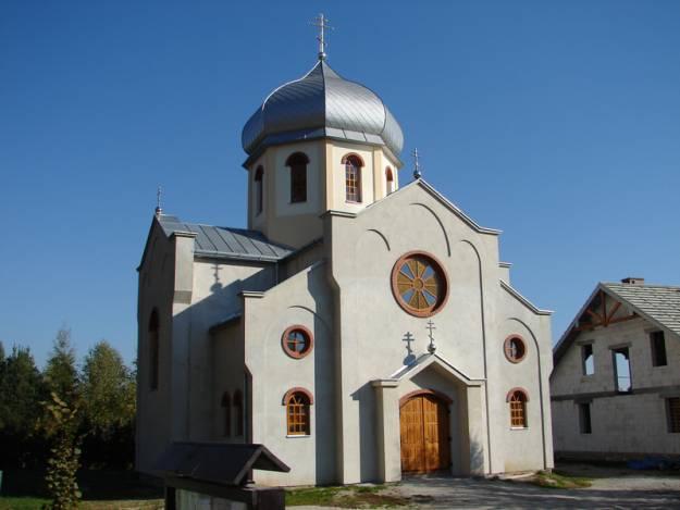 Aktualności Rzeszów | Jesienne pracy przy budowie cerkwi zrealizowane