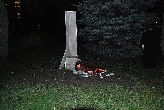 Aktualności Rzeszów | Zniszczył figurę Chrystusa