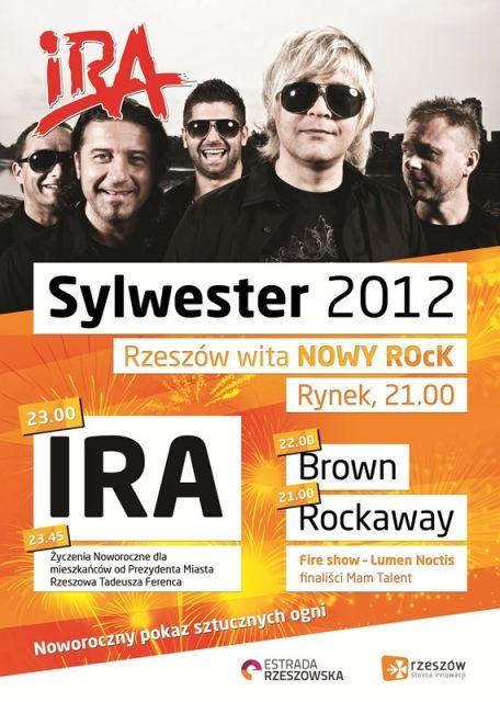 Aktualności Rzeszów | IRA gwiazdą Sylwestra na rzeszowskim Rynku