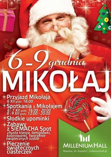 Aktualności Rzeszów | Mikołaj w Millenium przez 4 dni
