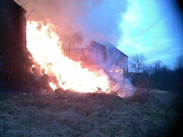 Aktualności Podkarpacie | Pożar budynku gospodarczego w Lipie