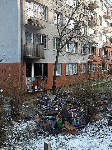 Aktualności Podkarpacie | Pożar w Przemyślu. Ewakuowano 40 osób
