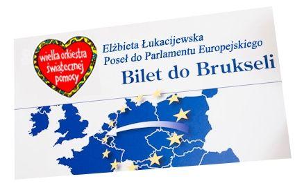 Aktualności Rzeszów | Bilet do Brukseli na licytacji WOŚP