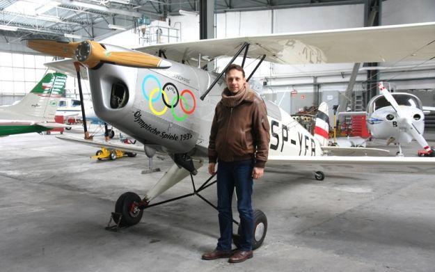 Aktualności Rzeszów | Odtworzyli replikę legendarnego samolotu