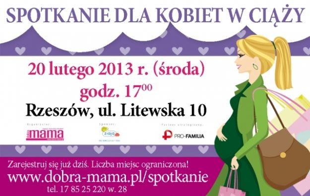 Aktualności Rzeszów | Spotkanie dla kobiet w ciąży