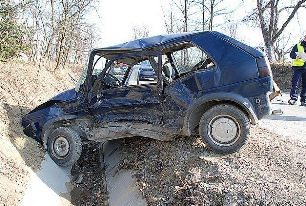 Aktualności Podkarpacie | Dwie osoby ranne w zderzeniu w Bieździadce