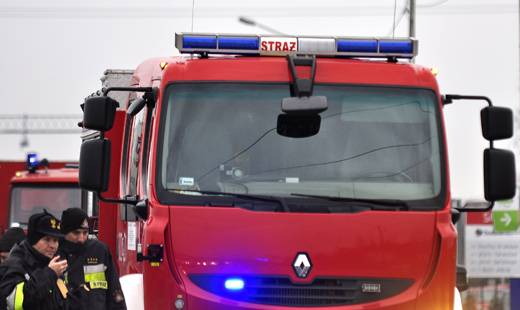 Aktualności Podkarpacie | Pożar budynku Caritasu w Ropczycach
