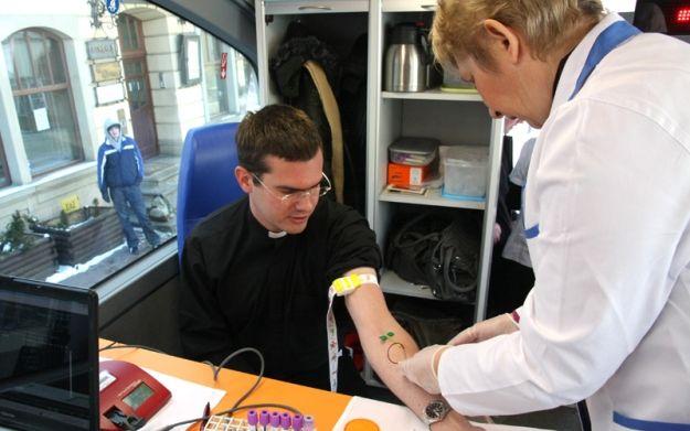 Aktualności Rzeszów | Caritas będzie zbierał krew