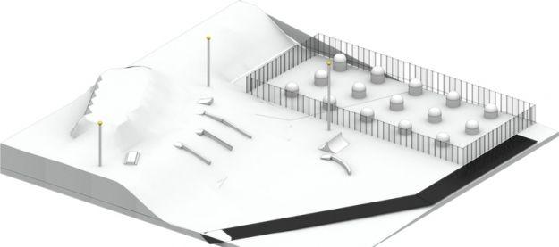 Aktualności Rzeszów | Nie tylko snowpark powstanie obok Podpromia