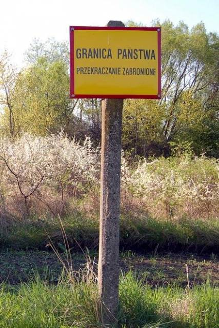 Aktualności Podkarpacie | Mandat za nielegalne przekroczenie granicy