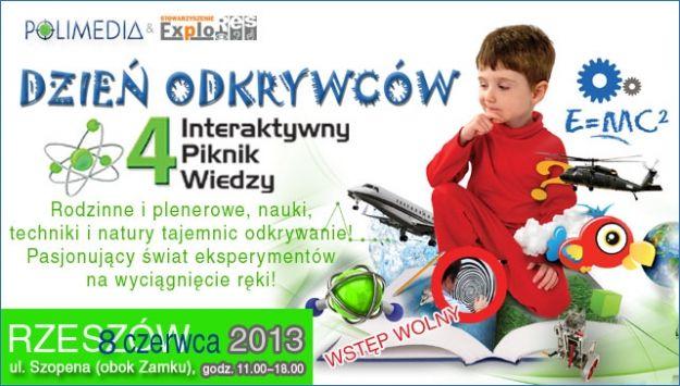 Aktualności Rzeszów | Dzień Odkrywców. Poznaj tajniki nauki i techniki