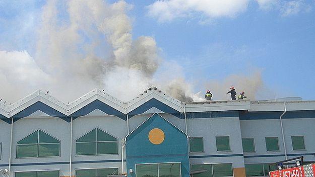 Aktualności Podkarpacie | Pożar pływalni w Kolbuszowej