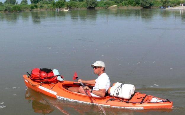 Aktualności Podkarpacie | Kajakowy rejs niezwykłego ekologa
