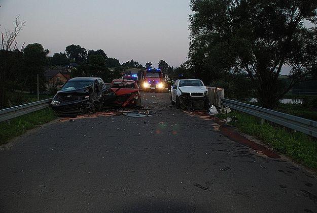 Aktualności Podkarpacie | Wypadek na moście. 5 rannych