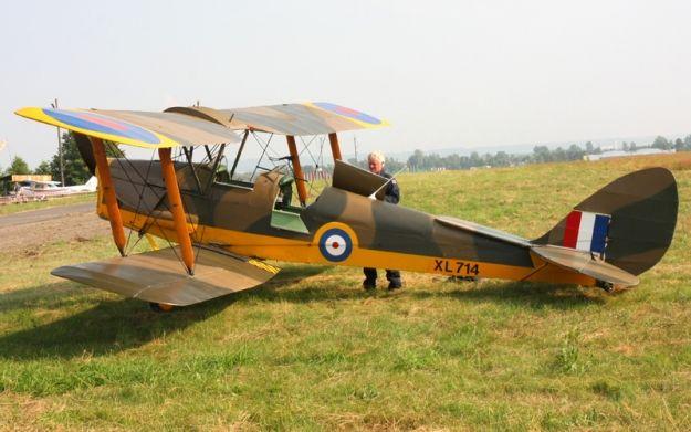 Aktualności Rzeszów | Zabytkowe samoloty z wizytą w Jasionce