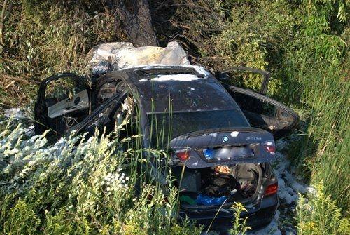 Aktualności Podkarpacie | BMW zapaliło się